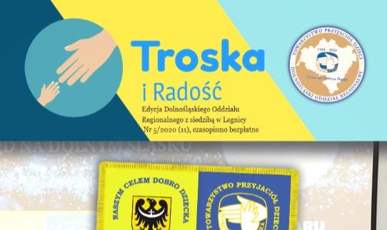 Specjalne wydanie gazety podsumowujące uroczystość nadania Sztandaru Dolnośląskiemu Oddziałowi Regionalnemu TPD.